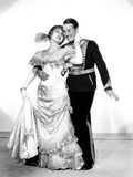 The Merry Widow, Jeanette MacDonald, Maurice Chevalier, 1934 Photo
