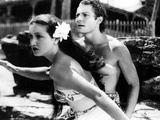 The Hurricane, Dorothy Lamour, Jon Hall, 1937 Photo