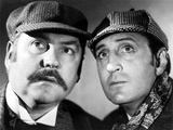 The Hound Of The Baskervilles, Nigel Bruce & Basil Rathbone, 1939 Print