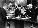 Grand Hotel, Mary Carlisle, Lionel Barrymore, Joan Crawford, Lewis Stone, 1932 Poster