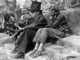 Oliver Twist, Anthony Newley, John Howard Davies, 1948 Photo