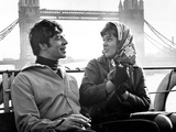 Georgy Girl, Alan Bates, Lynn Redgrave, 1966 Photo