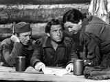 Northwest Passage, Walter Brennan, Spencer Tracy, Robert Young, 1940 Photo