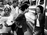 Night Of The Iguana, Sue Lyon, Ava Gardner, James Ward, Grayson Hall, 1964 Photo