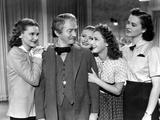 Four Daughters, Lola Lane, Claude Rains, Priscilla Lane, Rosemary Lane, Gale Page, 1938 Photo