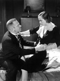 Grand Hotel, Wallace Beery, Joan Crawford, 1932 Print