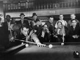 The Hustler, Paul Newman, Michael Constantine, 1961 - Photo