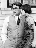 To Kill A Mockingbird, Mary Badham, Gregory Peck, 1962 Poster