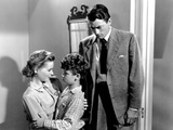 Gentleman's Agreement, Dorothy McGuire, Dean Stockwell, Gregory Peck, 1947 Photo