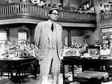 To Kill A Mockingbird, Gregory Peck, 1962 Foto