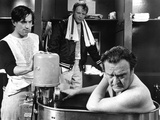 Bang The Drum Slowly, Robert De Niro, Michael Moriarty, Vincent Gardenia, 1973 Photo