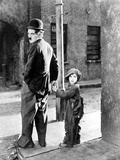 The Kid, Charles Chaplin, Jackie Coogan, 1921 Photo