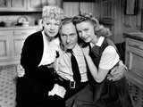 The Miracle Of Morgan's Creek, Betty Hutton, William Demarest, Diana Lynn, 1944 Photo