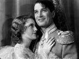 The Love Parade, Jeanette MacDonald, Maurice Chevalier, 1929 Photo