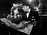 Ninotchka, Greta Garbo, Melvyn Douglas, 1939 Poster