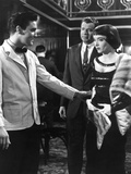 King Creole, Elvis Presley, Walter Matthau, Carolyn Jones, 1958 Photo