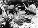 The Lost World, Triceratops, 1925 Photo