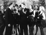 Dance, Girl, Dance, Robert Emmett O'Connor, Lucille Ball, Louis Hayward, Maureen O'Hara, 1940 Photo