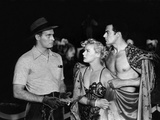 The Greatest Show On Earth, Charlton Heston, Betty Hutton, Cornel Wilde, 1952 Photo
