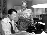 Gentleman's Agreement, Gregory Peck, Anne Revere, 1947, Writer At The Typewriter Photo