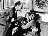 The Miracle Of Morgan's Creek, Porter Hall, Betty Hutton, Eddie Bracken, 1944, Threaten Kuvia