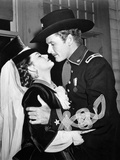 They Died With Their Boots On, Olivia De Havilland, Errol Flynn, 1941 Photo