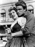 Forty Guns, Barbara Stanwyck, John Ericson, 1957 Photo