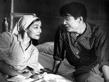 Hiroshima Mon Amour, Emmanuelle Riva, Eiji Okada, 1959 Photo