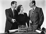 Mr. Blandings Builds His Dream House, Cary Grant, Myrna Loy, Melvyn Douglas, 1948 Photo