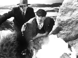On Dangerous Ground, Robert Ryan, Ward Bond, 1952 Photo