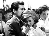 Hiroshima Mon Amour, Eiji Okada, Emmanuelle Riva, 1959 Photo