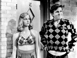 The Last Picture Show, Cybill Shepherd, Jeff Bridges, 1971 Photo