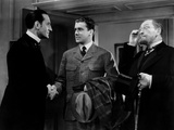 The Hound Of The Baskervilles, Basil Rathbone, Richard Greene, Lionel Atwill, 1939 Poster