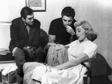 The Killing, Director Stanley Kubrick, Vince Edwards, Marie Windsor On Set, 1956 Prints