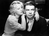 I Am A Fugitive From A Chain Gang, Glenda Farrell, Paul Muni, 1932 Photo