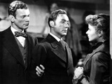 Gaslight, Joseph Cotten, Charles Boyer, Ingrid Bergman, 1944 Print