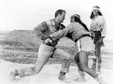 Hondo, John Wayne, Michael Pate, Rodolfo Acosta, 1953 Photo
