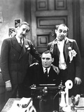 The Front Page, Adolphe Menjou, Pat O'Brien, Maurice Black, 1931 Photo