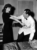 The Lady Eve, Barbara Stanwyck, Henry Fonda, 1941 Photo