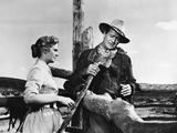 Hondo, Geraldine Page, John Wayne, 1953 Photo