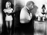 Night Of The Iguana, Sue Lyon, Richard Burton, 1964, Dressing Photo