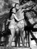 The Hurricane, Dorothy Lamour, Jon Hall, 1937 Prints