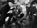 Bar 20, William Boyd, Andy Clyde, George Reeves, 1943 Photo