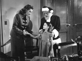 Miracle On 34Th Street, Maureen O'Hara, Edmund Gwenn, Natalie Wood, 1947 Photo
