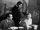 The Old Dark House, Raymond Massey, Boris Karloff, Gloria Stuart, 1932 Print