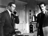 Dial M For Murder, Ray Milland, Anthony Dawson, 1954 Photo