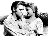 Love Me Tender, Elvis Presley, Debra Paget, 1956 Photo