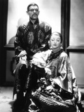 Mask Of Fu Manchu, Boris Karloff, Myrna Loy, 1932 Photo