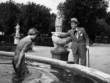 Three Coins In The Fountain, Dorothy McGuire, Clifton Webb, 1954 Photo