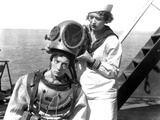 The Navigator, Buster Keaton, Kathryn McGuire, 1924 Photo